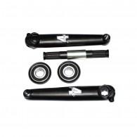 Click to view 4 jeri pro style bmx tubular cromo crank set