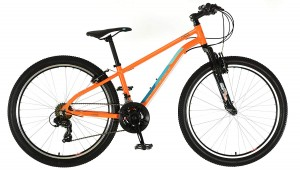 Click to view British Eagle Neo AL Orange 26/13 MTB Bike