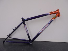 "Click to view Caygill Reynolds 853 Steel MTB 26"" frame only"