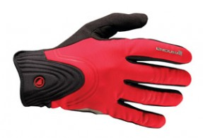 Click to view Endura Windchill gloves Red