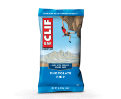 Click to view Clif bar Chocolate chip