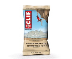 Click to view Clif bar white chocolate macadamia nut