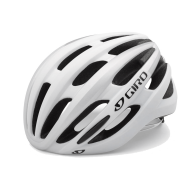 Click to view GIRO FORAY ROAD HELMET MATTE WHITE/SILVER
