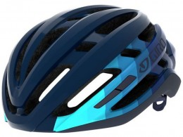 Click to view Giro Angilis Mips helmet Matte ice berg midnight bars