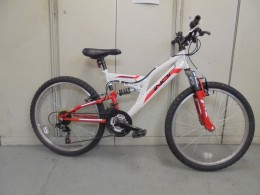 "Click to view Indi full suspension 24"" wheel bike (used)"