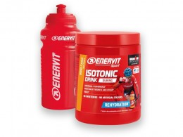 Click to view Enervit Sport Orange Isotonic Drink 420g with free Bottle