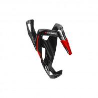 Click to view Elite custom race plus nero lucido grafica rossa brillante cage