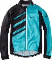 MADISON - SPORTIVE RACE MEN'S LONG SLEEVE THERMAL ROUBAIX JERSEY. Blue