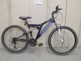 Click to view Muddyfox full suspension bike (used)