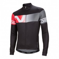 Click to view Nalini Partenza Ti Ls jersey Black red