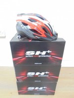 Sh+ S-92 Red/Carbon helmet