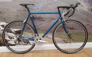 Click to view Arthur Caygill retro steel road bike