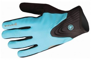 ENDURA WOMENS WINDCHILL GLOVES BLUE