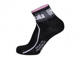 Click to view Santini Giro d'Italia 2016 Maglia Nero Line Race Socks