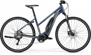 Merida eSpresso 200 2019 Womens Electric Urban Bike - Blue/Silver