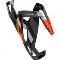 Click to view Custom race nero lucido grafica arancione cage