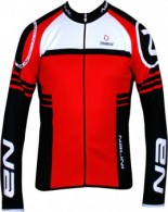 Click to view Nalini PRO ESTRO long sleeve jersey Red
