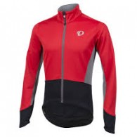 Click to view Pearl izumi Men's elite Pursuit Softshell Jacket Red
