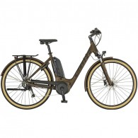Scott Sub Active eRide Unisex Electric Hybrid Bike 2019 - Bronze