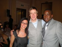 Mandy, Sir Bradley Wiggins and Vic.