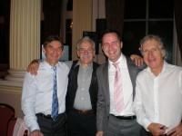 Sid Barras, Arthur, Scott, Keith Lambert.