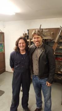 Steve Davison and john Bishop
